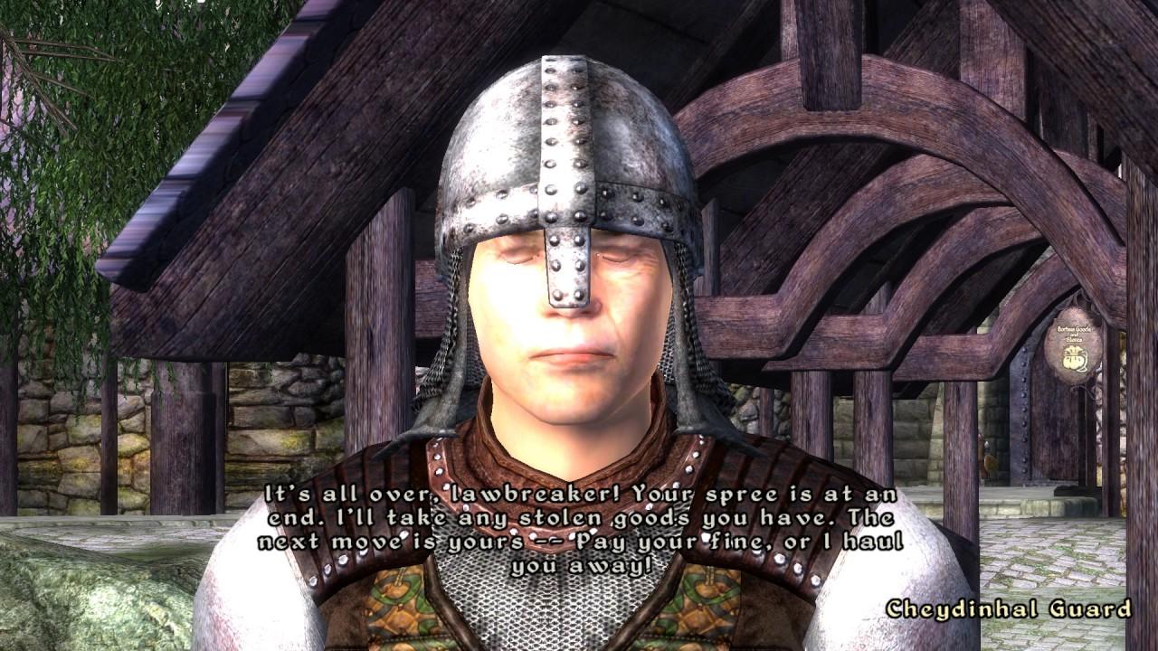 Oblivion Guard AI in a minute