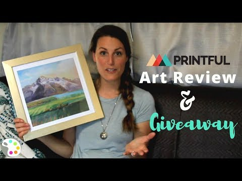 Printful Review for Artists & Art Print Giveaway!