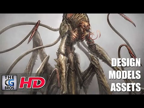 "CGI & VFX Showreels: ""Games"" DESIGN, MODELS, ASSETS by The Aaron Sims Company"