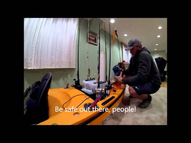 2016 Kayak Fishing Set Up - Wilderness Systems Commander 120 Modifications
