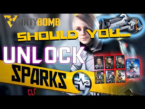 Dirty Bomb Merc Review | Sparks Gameplay and Review (Is Sparks Worth It?)