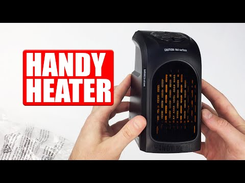 Portable Handy Heater   Plug-in Space Heater Review & best features!