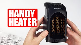 Handy Heater Review and Test !! why others are wrong..