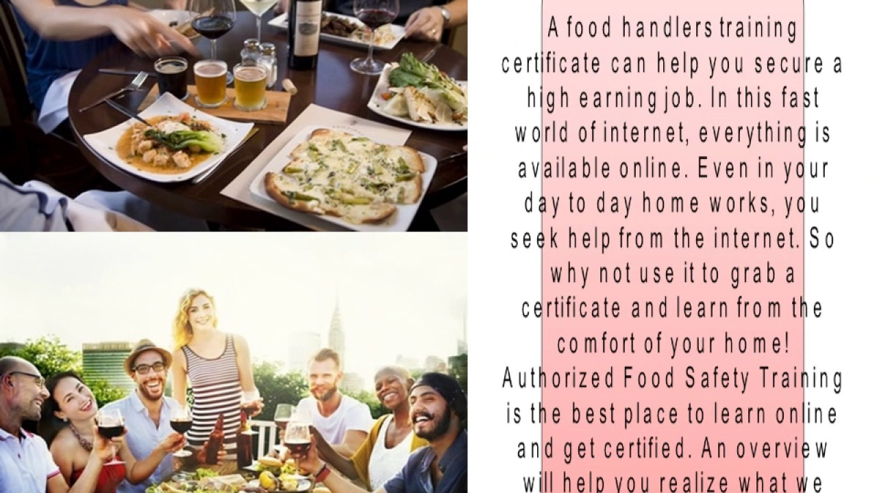Set a career with food handlers training certificate online youtube set a career with food handlers training certificate online xflitez Gallery