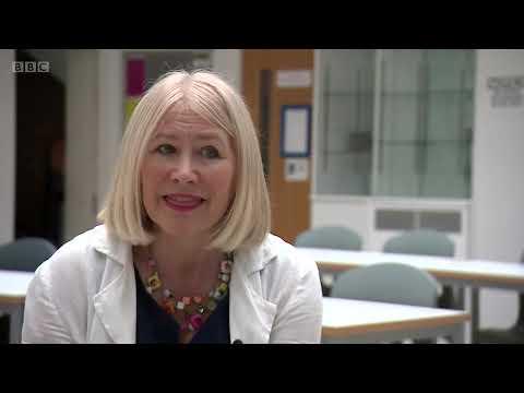 Wycombe High School on BBCTV National News