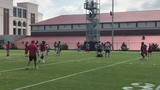 Ole Miss practice highlights - QBs