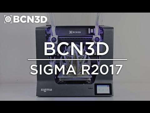 0 - BCN3D Sigma bietet zwei voneinander getrennt gesteuerte Extruder - Update: Neue Version R2017