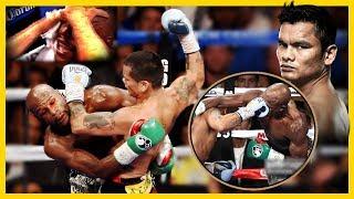 El Boxeador que APLASTO a Mayweather y le ROBARON la PELEA