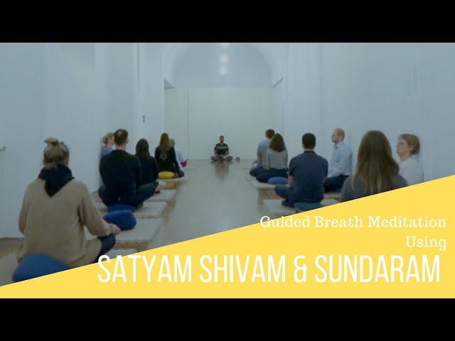 Guided Breath Meditation Using Satyam Shivam and Sundaram Technique