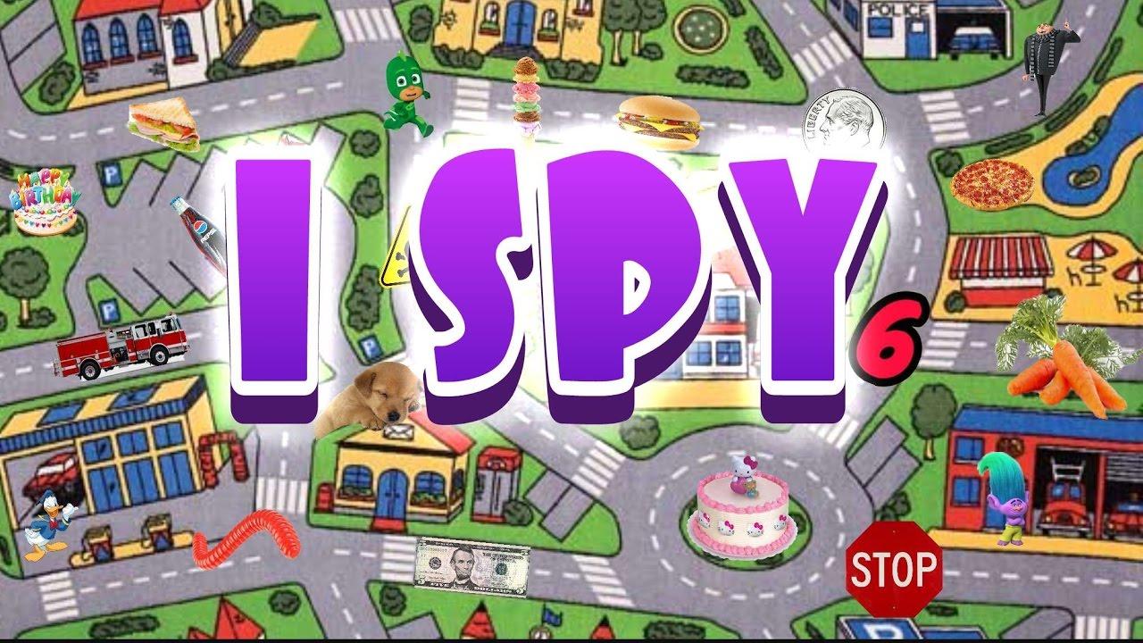 I Spy Games For Kids 2 Youtube