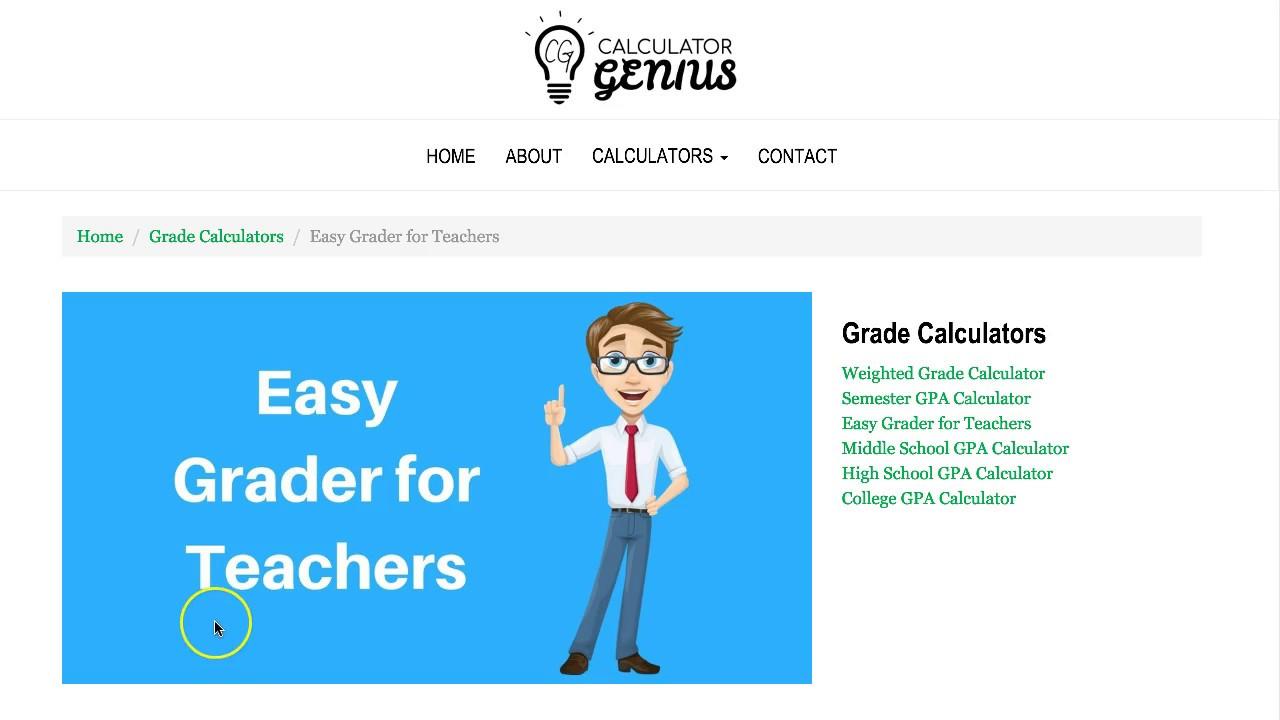 Easy Grader for Teachers - YouTube