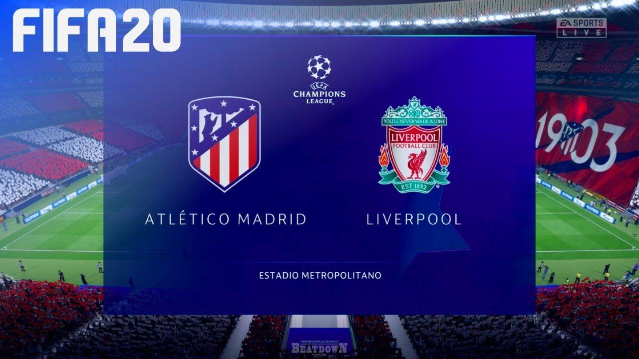 FIFA 20 - Atlético Madrid vs. Liverpool @ Wanda Metropolitan