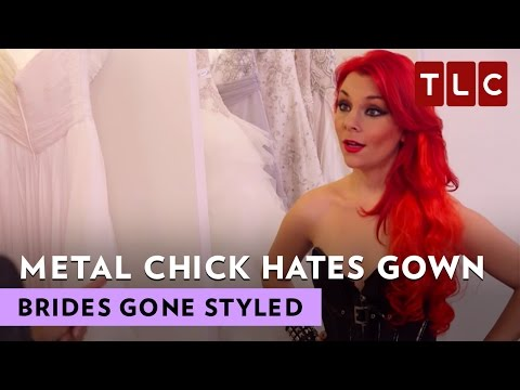 Metal Chick Hates White Gown | Brides Gone Styled S1E1