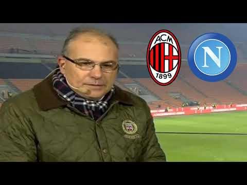SUMA - DELIRIO PIATEK POI SI SCAGLIA CONTRO HIGUAIN E GIACOMELLI - Milan Napoli 2-0