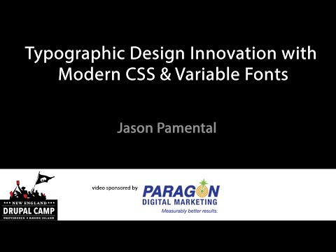Typographic Design Innovation with Modern CSS & Variable Fonts thumbnail
