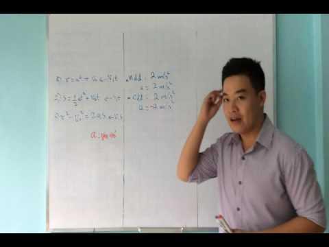 TSDL – 10.3 Phương pháp giải bài tập chuyển động thẳng biến đổi đều