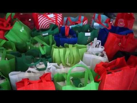 2017 Holiday Stocking Program at Booker Middle School