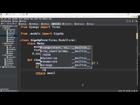 25 Python Web Django Forms and ValidationError التحكم في الاخطاء