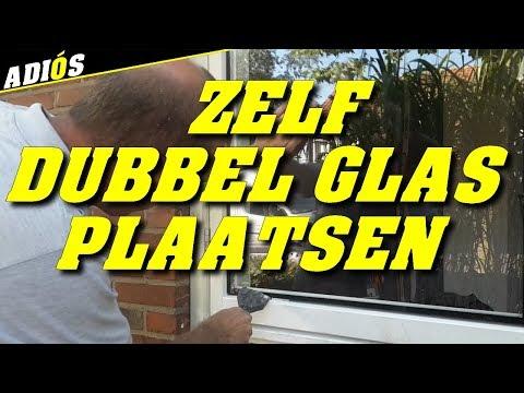 Enkel Glas Vervangen Door Dubbel Glas.Dubbel Glas Zelf Aanbrengen Vervangen Van Enkel Glas Naar