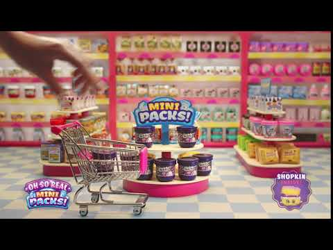 SHOPKINS OH SO REAL | WELCH'S | EXCLUSIVE TO WALMART