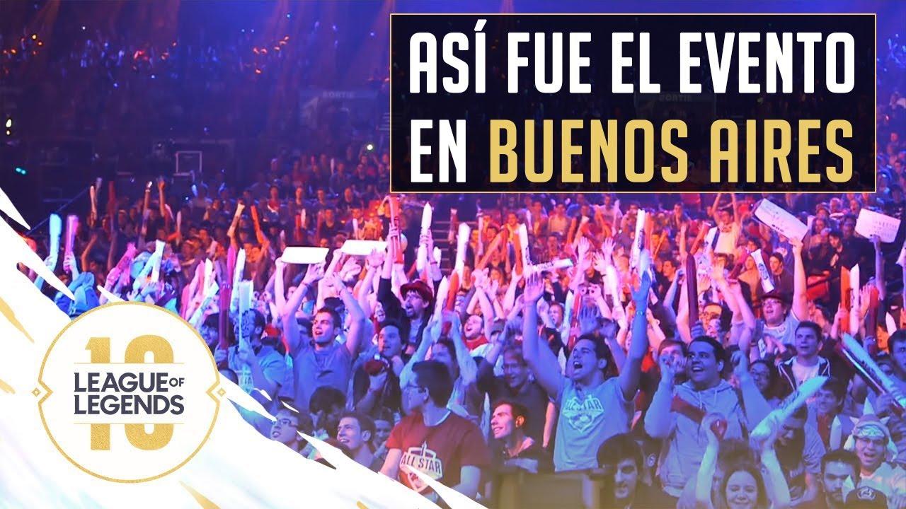 EVENTO EXCLUSIVO DE 10 AÑOS DE LEAGUE OF LEGENDS EN BUENOS AIRES ARGENTINA  - EL LOL EZREAL