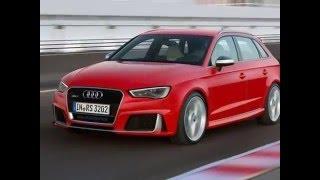 Audi RS3 Sportback(Audi RS3 Sportback (Ауди RS3 Спортбек) – заряженная версия хэтчбека класса «С». Мировая премьера модели, построенной..., 2016-01-04T10:38:42.000Z)