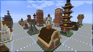 Minecraft: 64 CONSTRUÇÕES PARA VOCÊ FAZER!!!