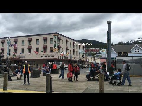 #7 First ports of Alaska. Juneau. Ketchikan. Lumberjack show