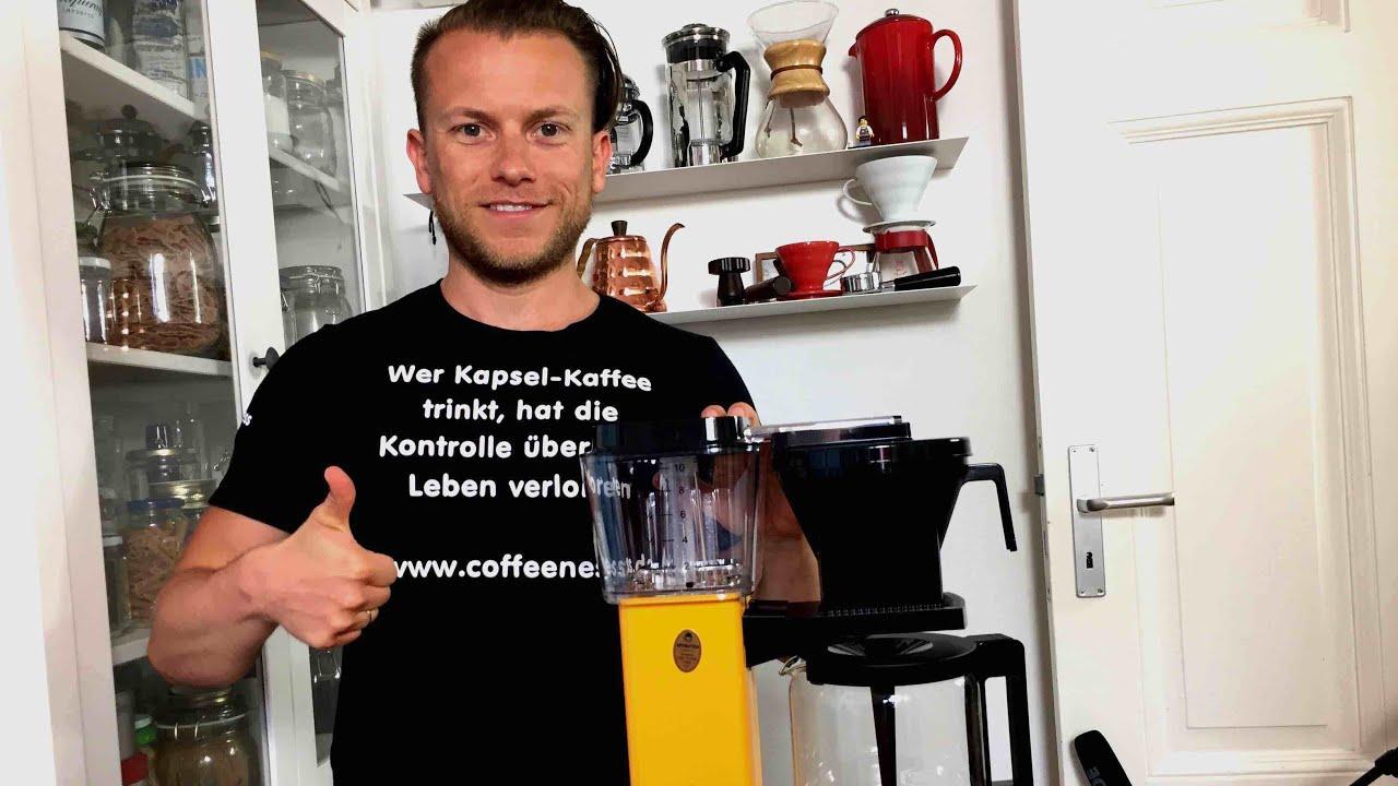 Moccamaster Kaffeemaschine im Test  YouTube -> Kaffeemaschine Im Test