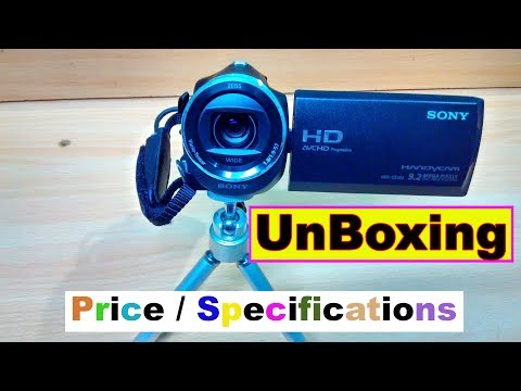 UnBoxing SONY HDR-CX405 Handycam (Price/Specifications/Demo/Image & Video Quality test)