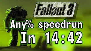 Fallout 3 Any% Speedrun in 14:42 (itsjabo)