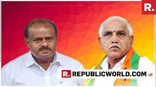 BS Yeddyurappa And Karnataka CM HD Kumaraswamy React To #CongUltimatum