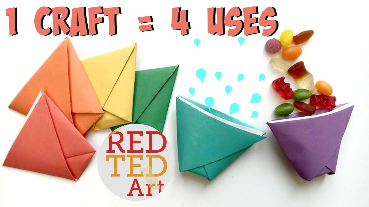 How to Make an Origami Cootie Catcher! | 720x1280