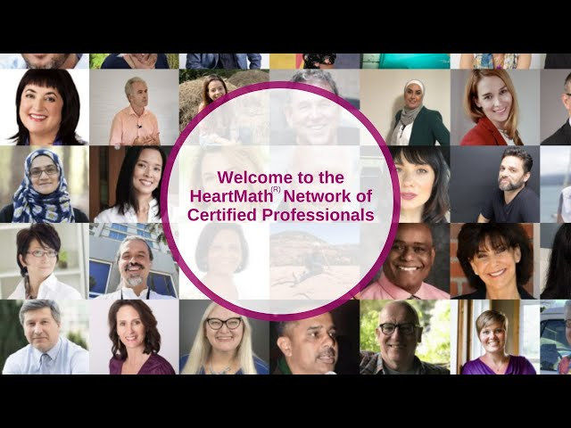 Meet Our Network of HeartMath Certified Professionals