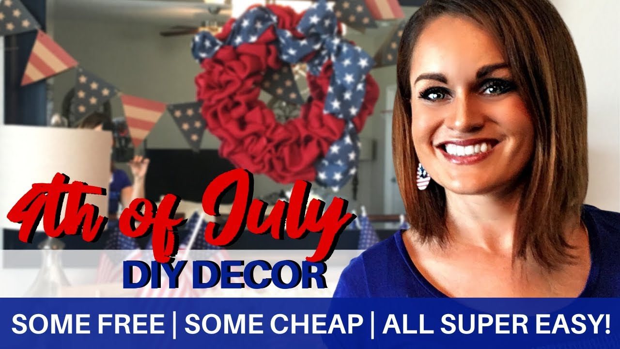 Diy Decor Patriotic Decor Ideas On A Budget Some Free