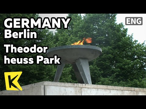 【K】Germany Travel-Berlin[독일 여행-베를린]테오도르 호이스 공원, 비극의 불꽃/Theodor heuss Park/Eternal Flame/Tragedy