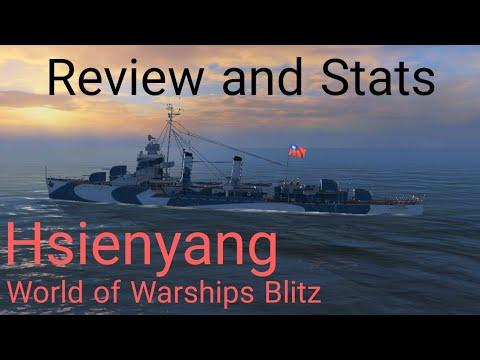 World Of Warships Blitz: Hsienyang. Review And Stats