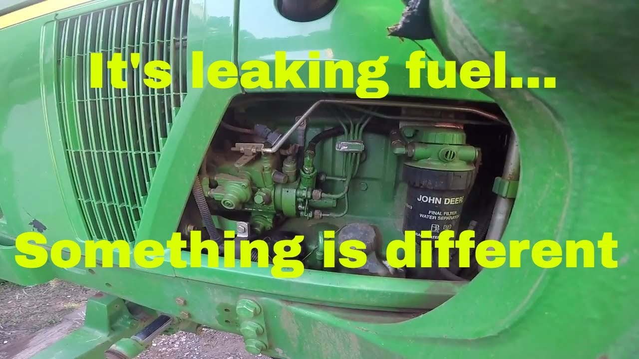 small resolution of fuel leak on the 6410