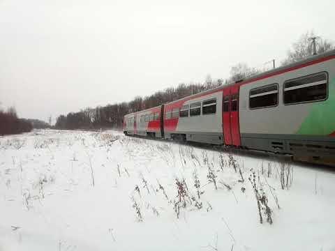 РА2-83 с сообщением Металлист - Нижний Новгород, на перегоне металлист - ворсма