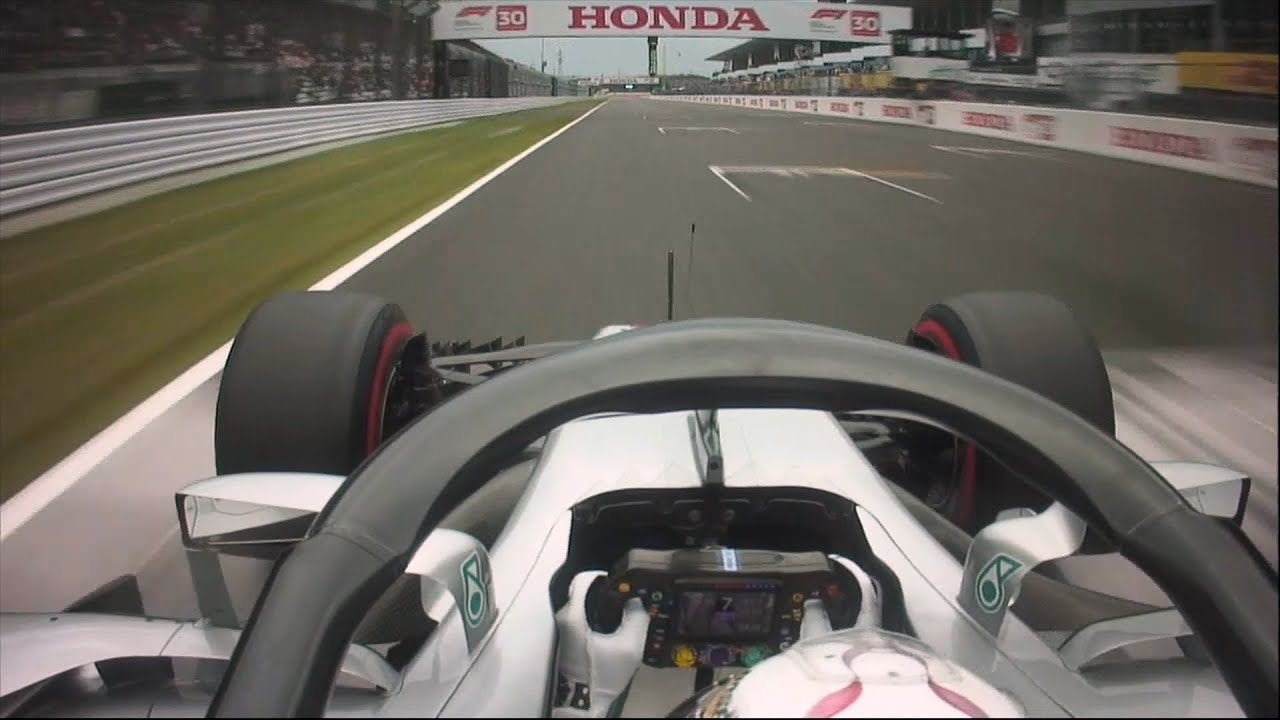 Lewis Hamilton's 80th Pole Lap | 2018 Japanese Grand Prix