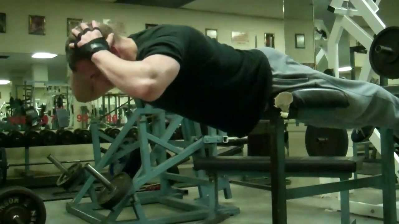 Gym Exercises: Strengthen Your Lower Back - Reverse Sit-ups (Intermediate)