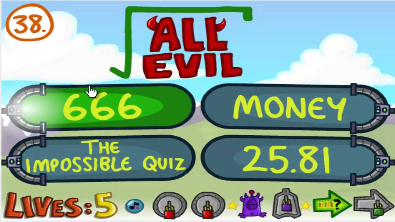how to win the impossible quiz