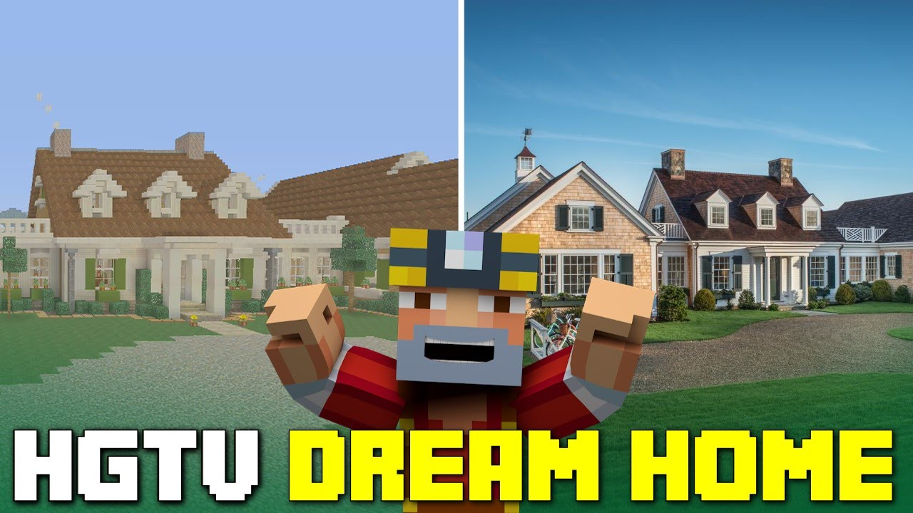 Minecraft Xbox One Hgtv Dream Home 2015 Tour Youtube