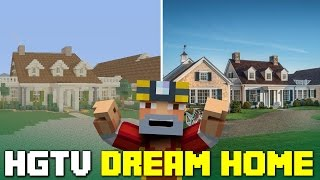 Minecraft Xbox One: HGTV Dream Home 2015 Tour!