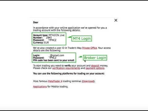 Forex Traders Way Inscription Broker Tutoriel Youtube