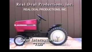 case international 7130 pedal tractor ertl