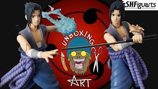 S.H. Figuarts Naruto Shippuden: Sasuke Uchiha Unboxing and Review