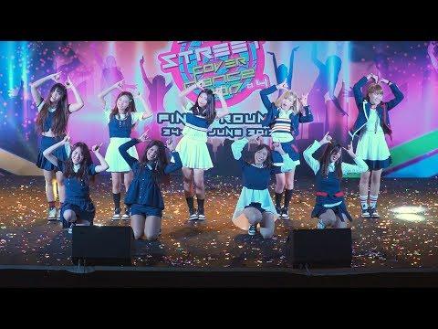 170624 DIA.G cover TWICE - Touchdown + Like OOH-AHH + TT + SIGNAL @ J&K Cover Dance 2017 (Final)
