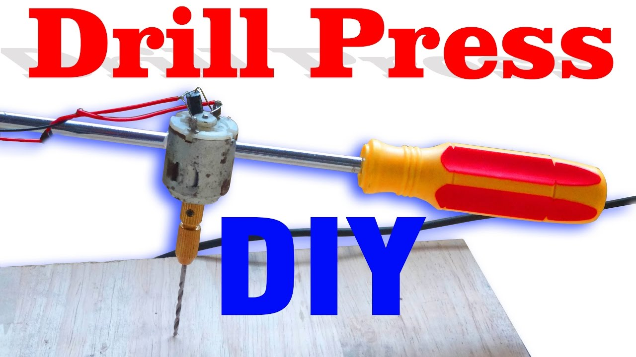 how to make a drill machine at home download