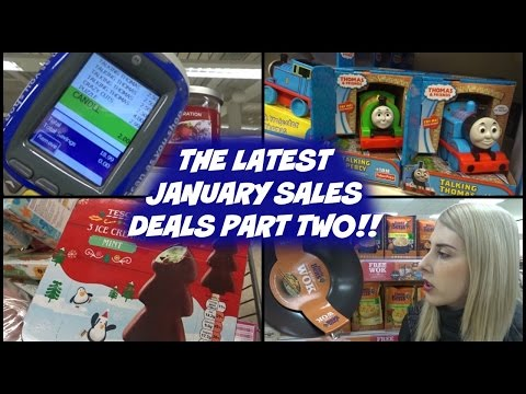 January Sales Vlog 2017 | Part Two